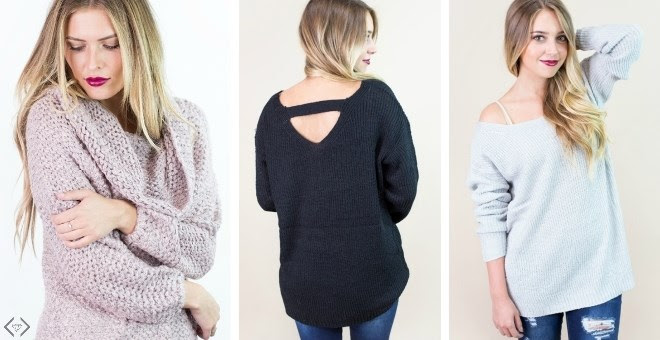 HOT!! Trendy Knit Sweaters...