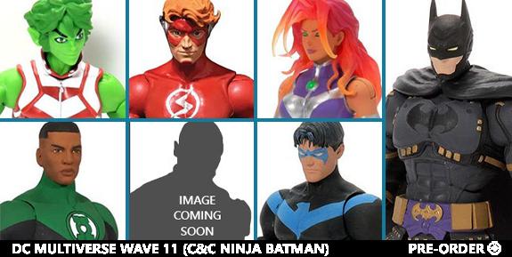 DC COMICS MULTIVERSE COLLECT & CONNECT NINJA BATMAN