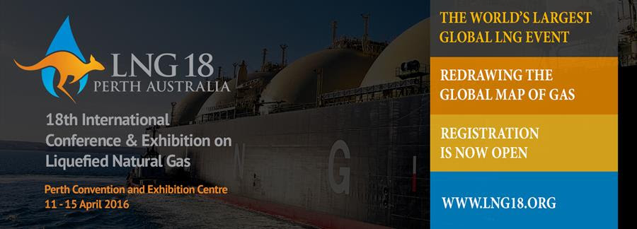 LNG 18 | April 2016 | Perth, Western Australia