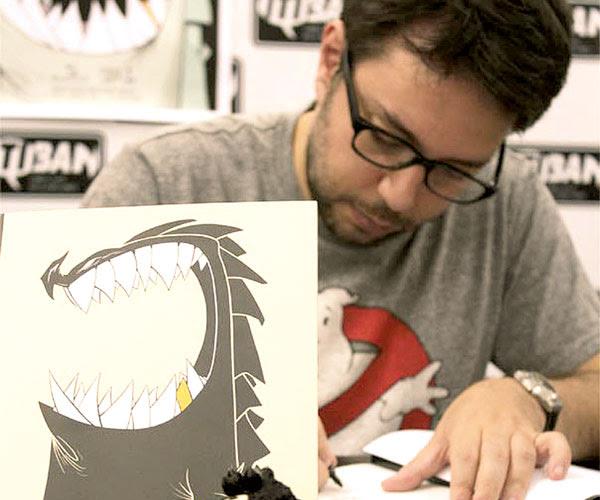 O desenhista paulista Gustavo Duarte participa de debate sobre leitura e arte das HQs