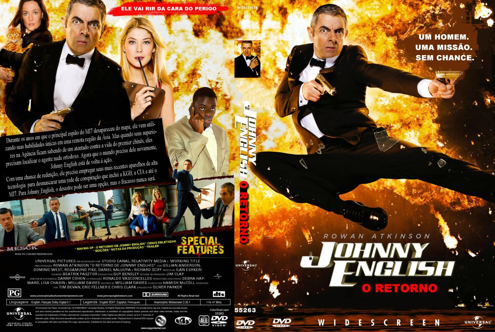 O Retorno De Johnny English Torrent – BluRay Rip 720p Dublado (2011)