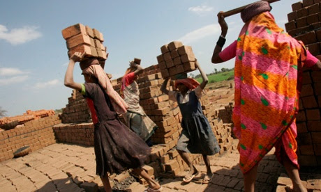 The brick quotas are set so high that workers often have to involve their entire family to meet the targets.