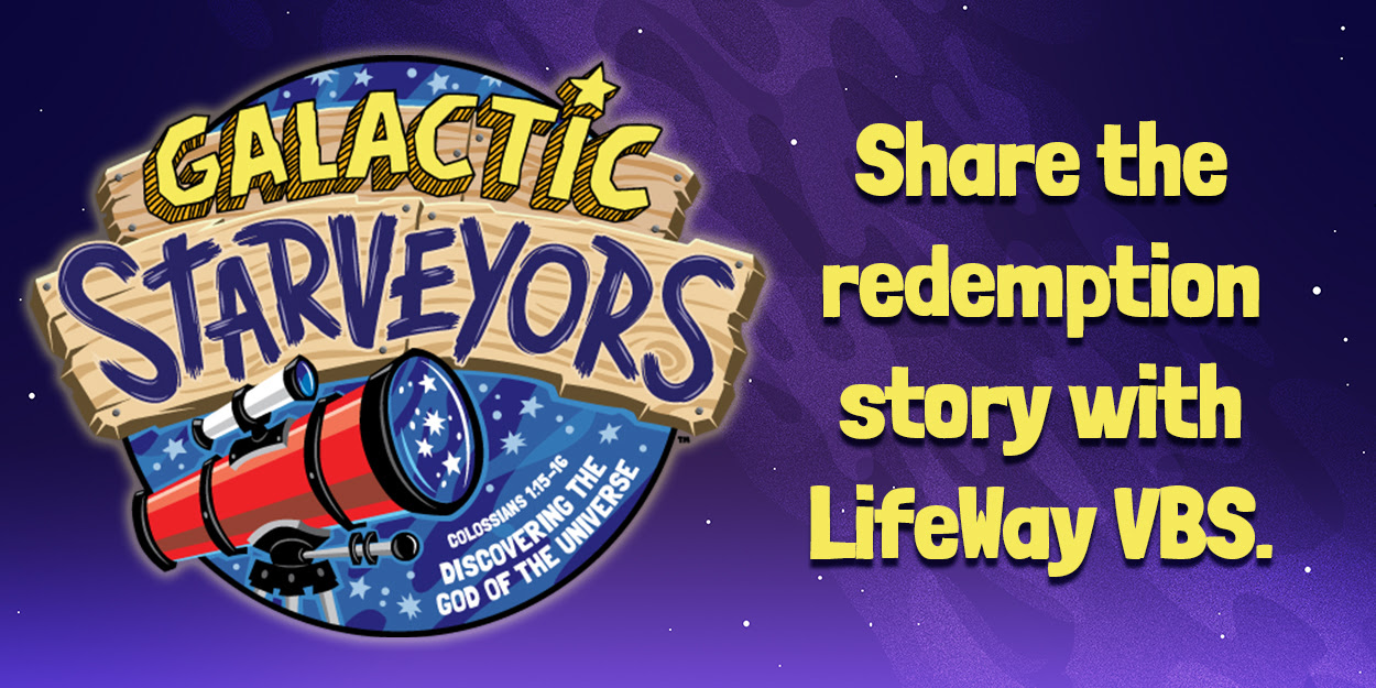 Share the redemption story with LifeWay VBS.