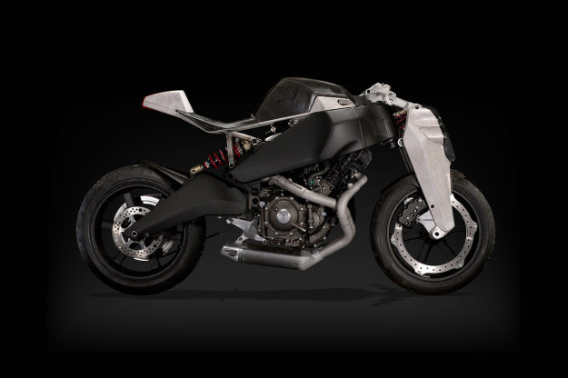 The Ronin Motor Works 47, a limited production superbike based on the Buell 1125.