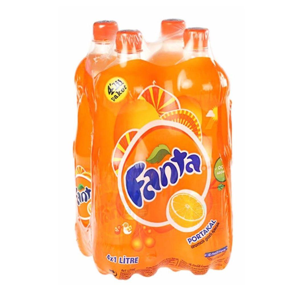 Fanta 4 x 1L Orange