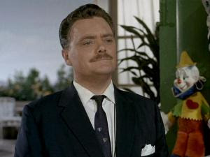 Bernard Fox in The Thor Affair, one of the better episodes in the third season of The Man From U.N.C.L.E.
