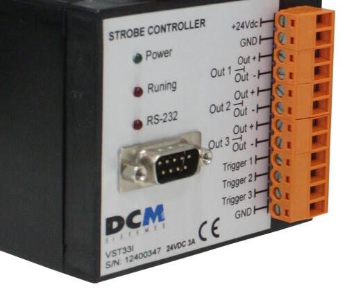 Controladores RGB y estroboscópicos DCM Sistemes