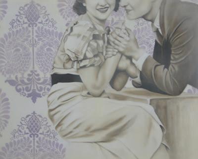 Jhina Alvarado, Courtship