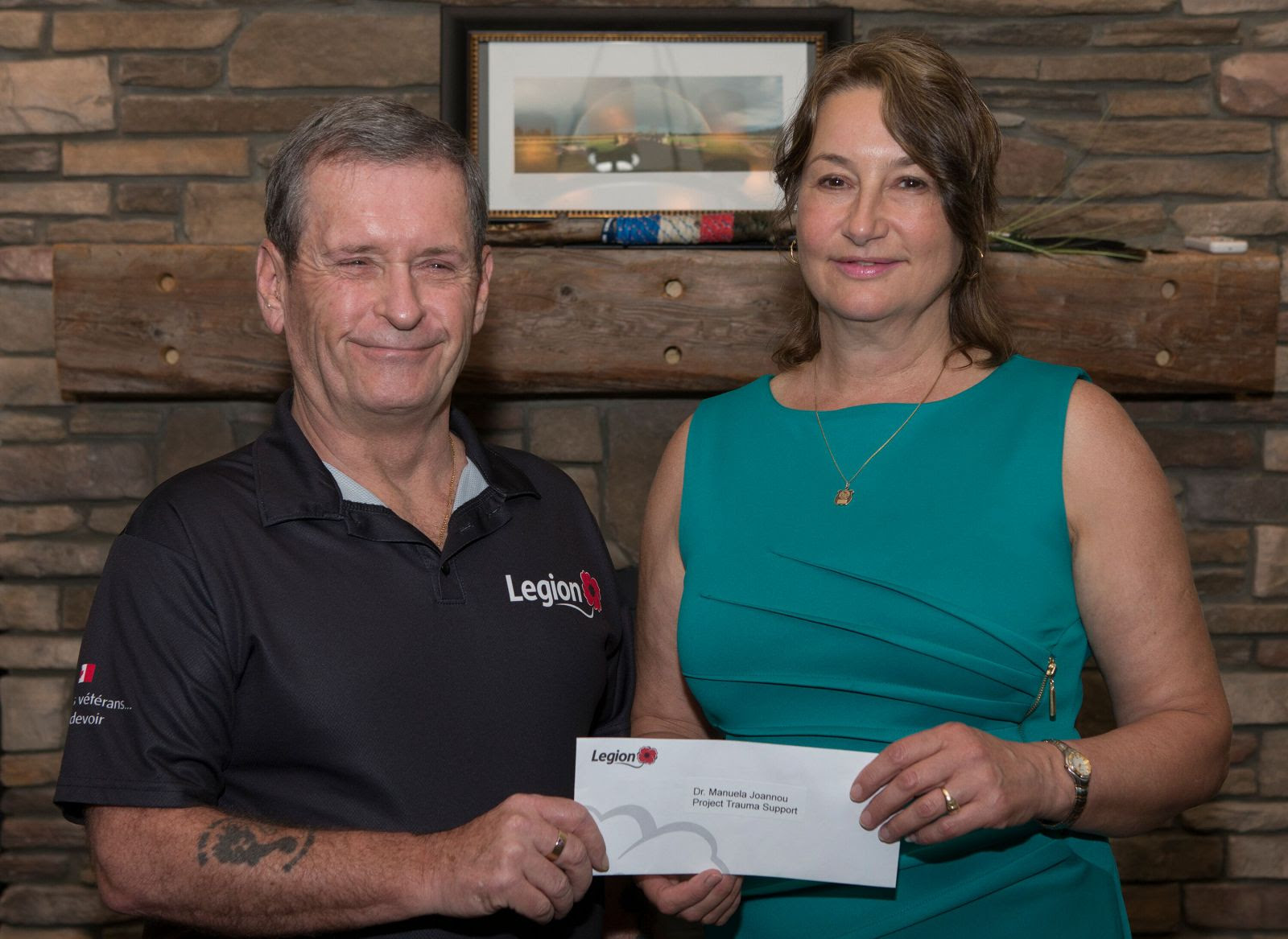 Legion donates $300k to promising PTSD treatment program