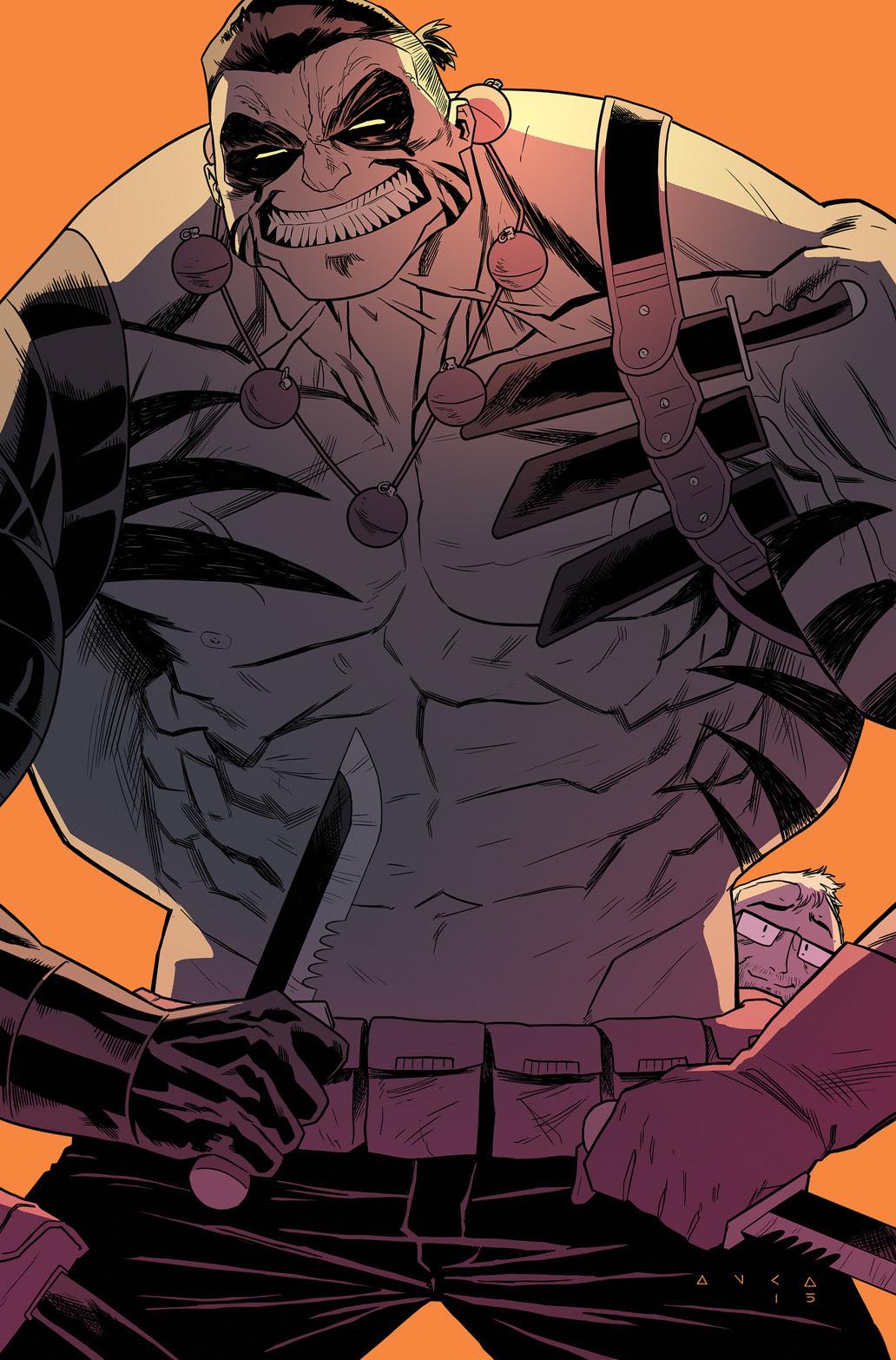 Oh, Killstrike #1 Incentive Cover