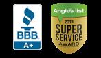 A+ BBB | Angie's List Super Service Award