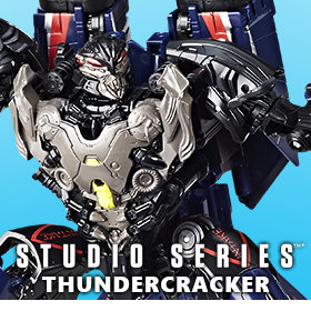 TRANSFORMERS STUDIO SERIES 09 VOYAGER THUNDERCRACKER