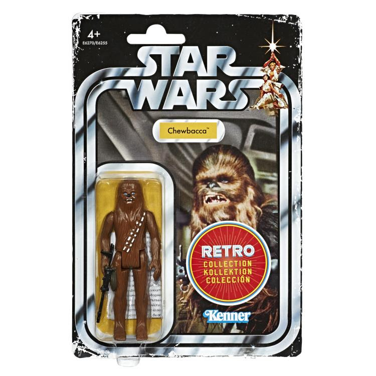 Image of Star Wars The Retro Collection Action Figures Wave 1 - Chewbacca