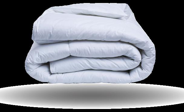Folded Cumulus Comforter