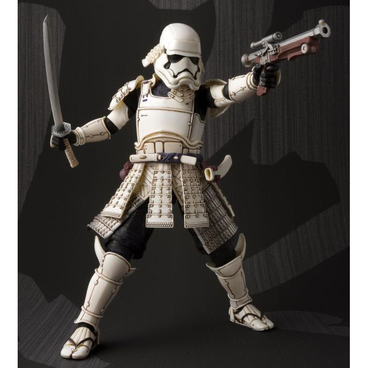 Image of Star Wars Mei Sho Movie Realization Ashigaru First Order Stormtrooper - OCTOBER 2019