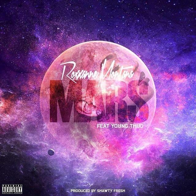 Queen Roxxanne Montana ft Young Thug - Mars artwork