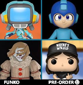 NEW FUNKO POP!, ROCK CANDY, MINIS, & PLUSH