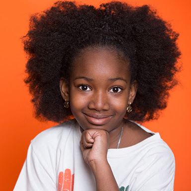 Black student with natural hairstyle