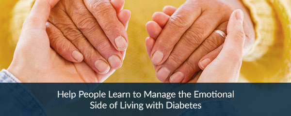 help people learn to manage the emotional side of living with diabetes