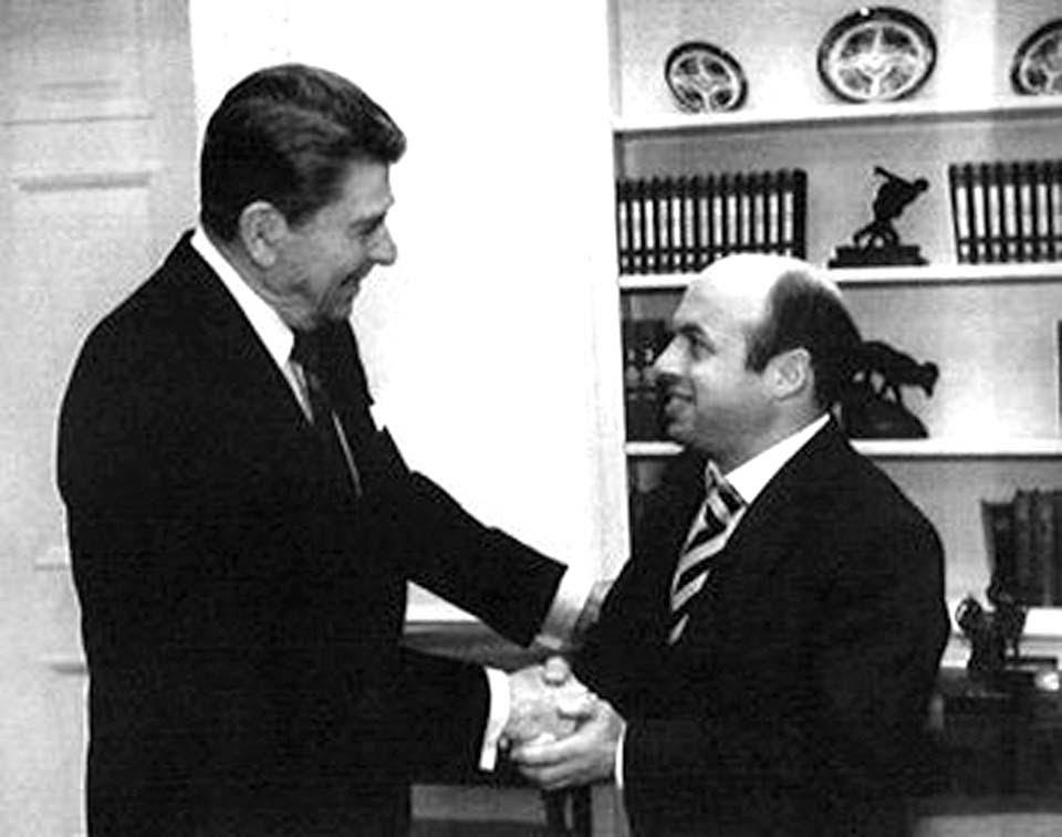 Натан Щаранский с Рональдом Рейганом. Фото предоставлено Натаном Щаранским