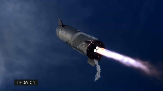 SpaceX vai testar mais um protótipo do Starship nesta semana