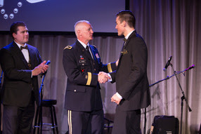During the Camo Gala, it was DTBL's turn to honor those who have meant so much to the mission.
