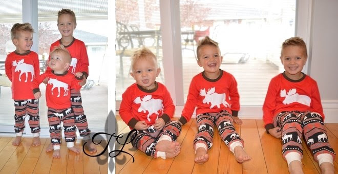 Christmas Moose Matching Jammi...
