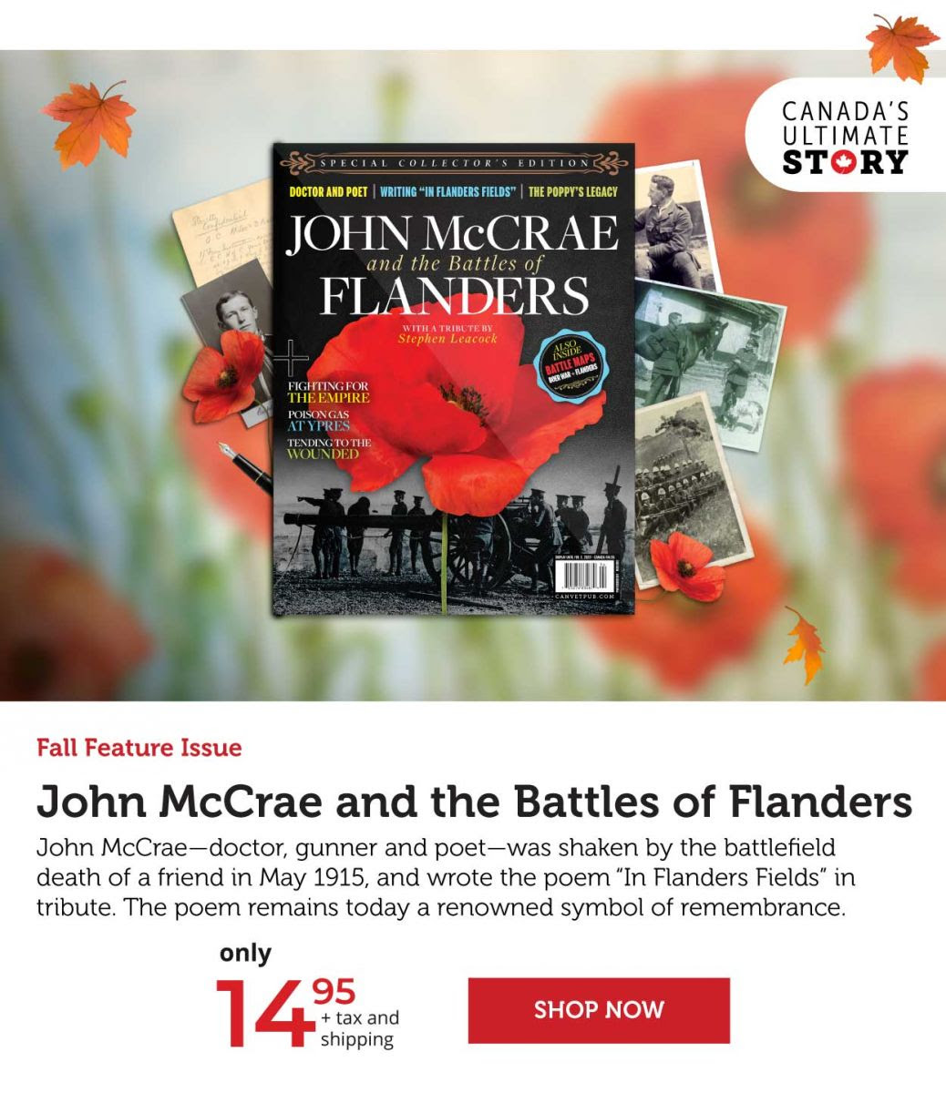 John McCrae and the Battles of Flanders