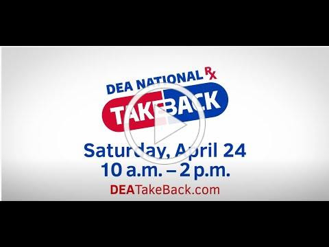 #DEATakeBack National Prescription Drug Take Back Campaign (April 24, 2021) 30 sec CC