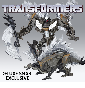 TRANSFORMERS DELUXE SNARL