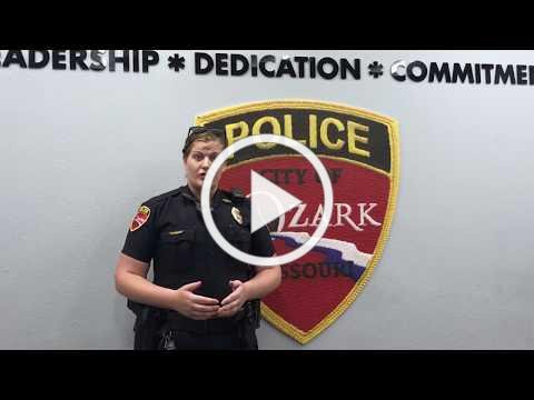 Ozark now has a trained CPTED officer!