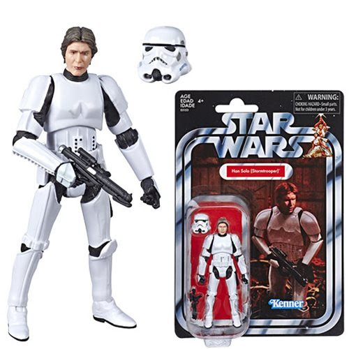 Image of Star Wars The Vintage Collection Han Solo (Stormtrooper) 3 3/4-Inch Action Figure - Exclusive