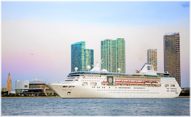Royal Caribbean's Empress Of The Seas Arrives Home To Miami
