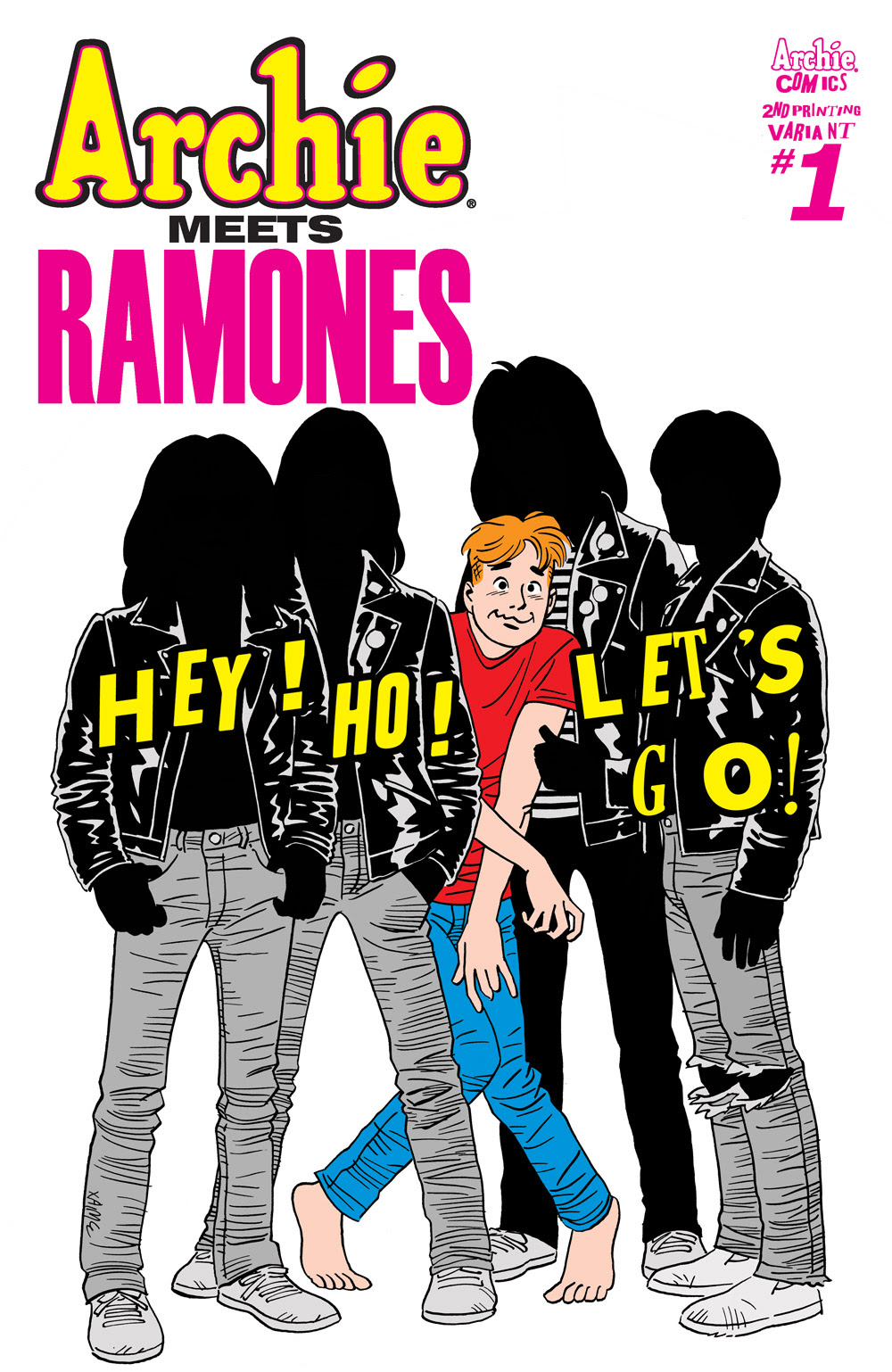 Archie Meets Ramones 2nd Printing Cover