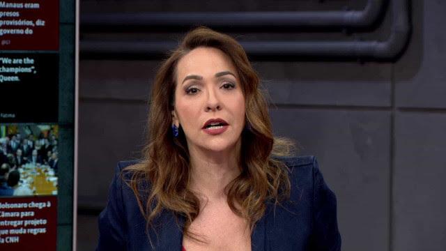 Maria Beltrão dá bronca ao vivo em comentarista durante programa
