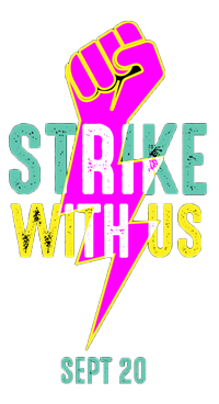 #StrikeWithUs