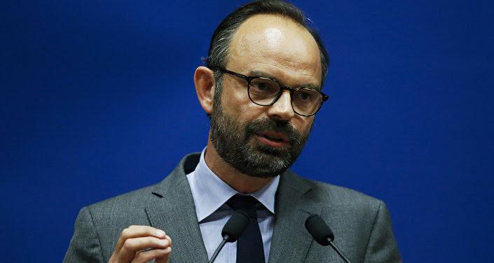 Edouard Philippe, primer ministro de Francia