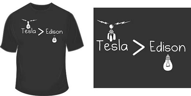 Tesla, 1884'te Birleşik devletlere ilk defa geldiğinde, Thomas Edison için çalışır. Edison henüz ampulün patentini almıştır ve elektriğin dağıtımı için bir sisteme ihtiyaç duymaktadır.