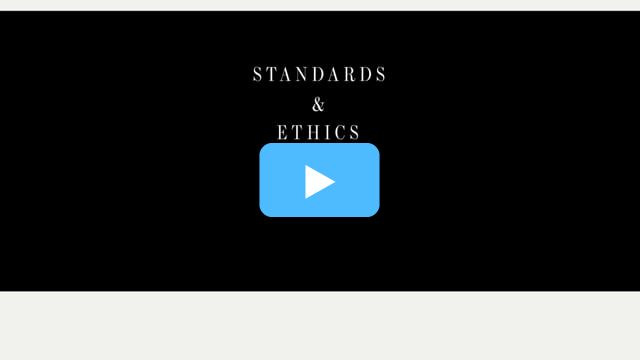WSJ News Literacy - Ethics & Standards