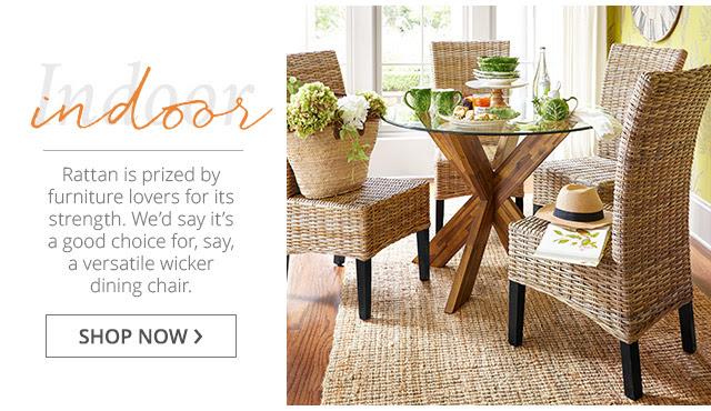 Indoor Wicker: Shop Now