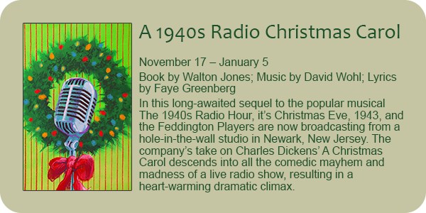 A 1940s Radio Christmas Carol, by Walton Jones et al.