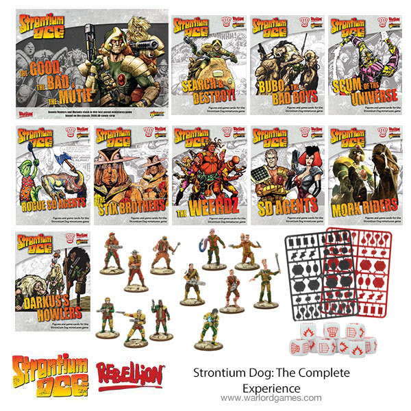 New Strontium Dog Set The Complete Experience