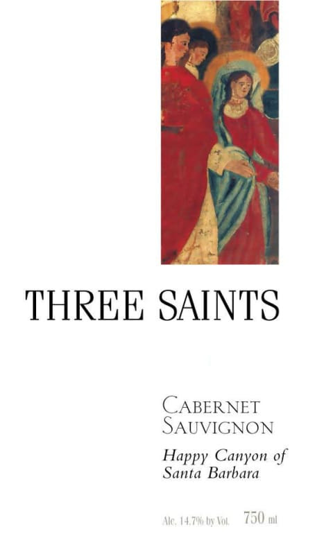 Image result for three saints cabernet 2016 santa barbara