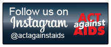 Follow actagainstaids on instagram