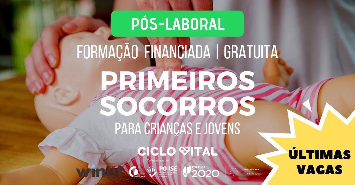 Cursos subsidiados em Aveiro (Massagem e Primeiros Socorros)