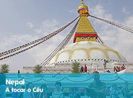 Saiba mais sobre a viagem ao Nepal - A tocar o Céu