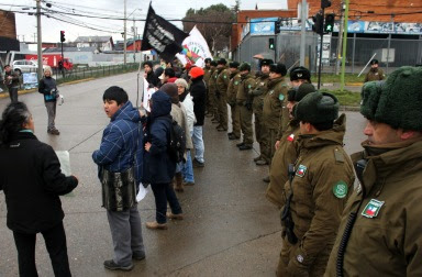 Protesta por aprobación de río Cuervo.