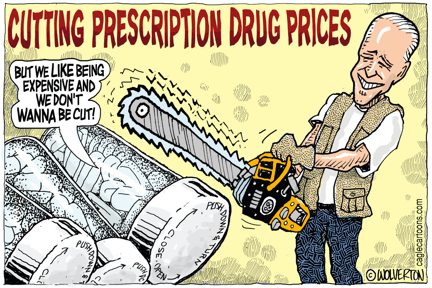 President Biden proposes to bring drug prices down and fight corporate greed.