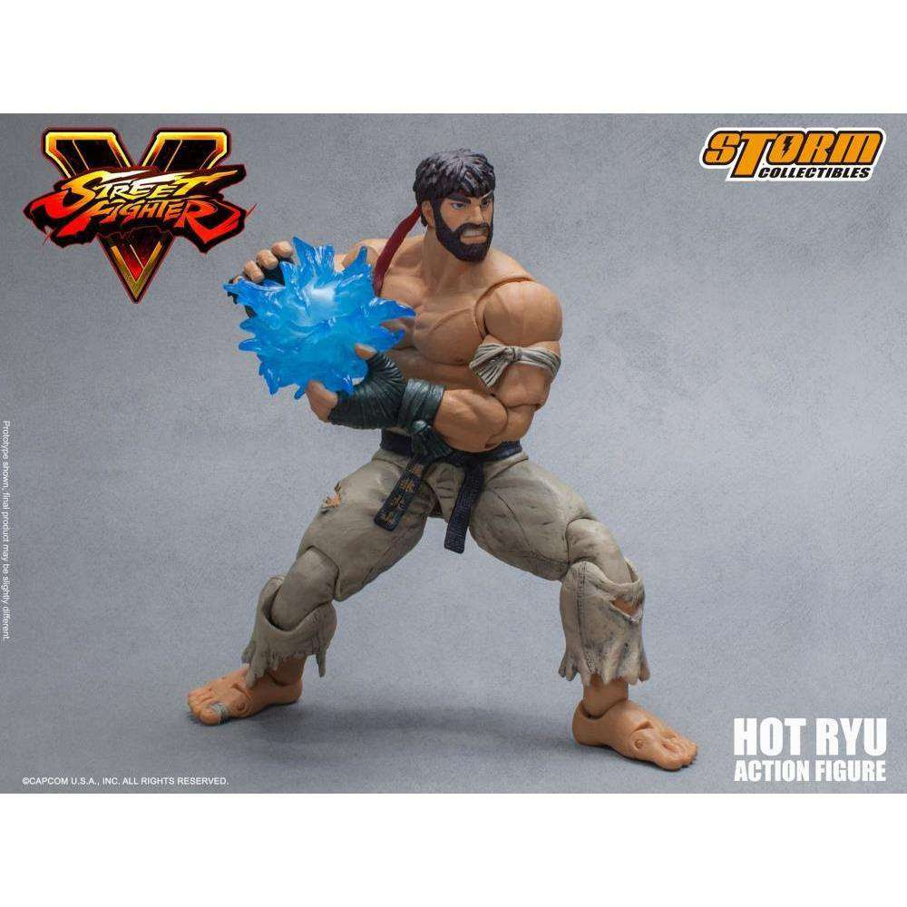 Image of Street Fighter V - Hot Ryu 1/12 Scale Figure
