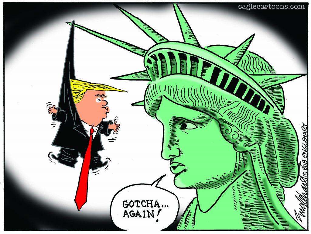 Liberty Does It Again - Bob Englehart